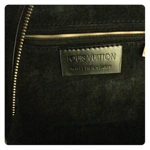 Louis Vuitton Black Epi Mabillon Backpack